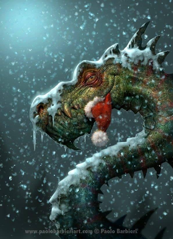 Dragon Ate Santa